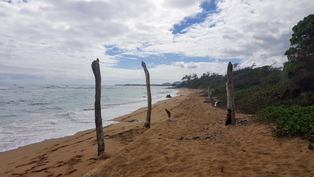 Where to stay on Kauai - Lydgate beach across from the playground
