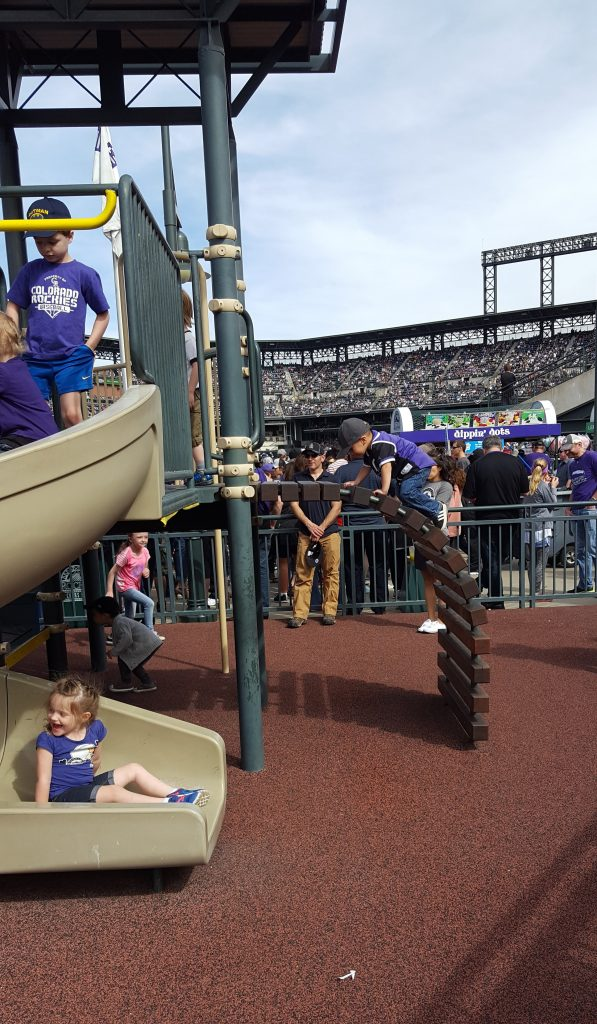 Dinger's Playground at Coors Field