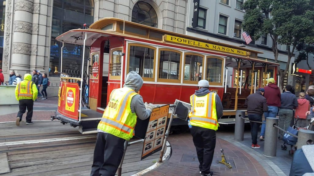 Cable Car Turntable San Francisco