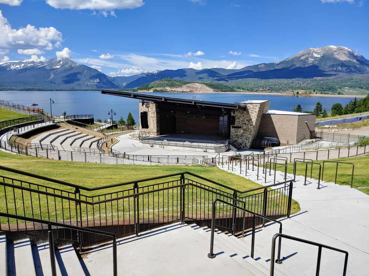 Dillon Ampitheater in the summer