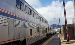Amtrak Train at the Station