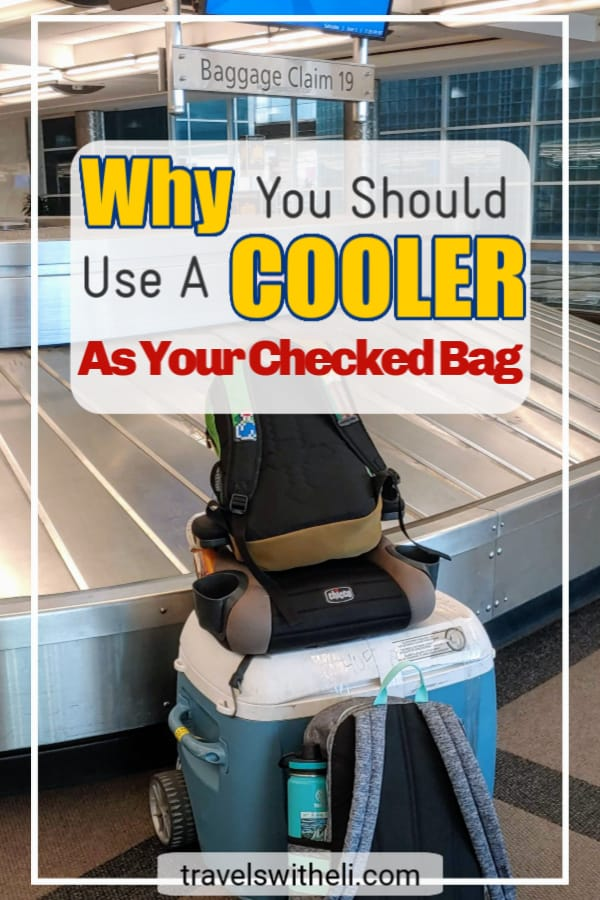 Why you should use a cooler as your checked bag