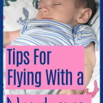 flying with a newborn