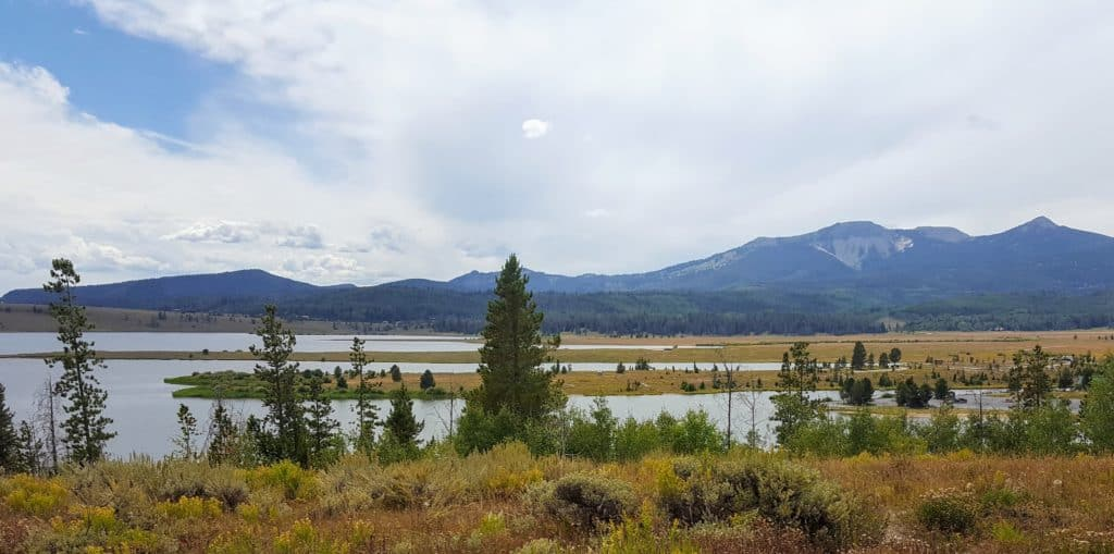 Steamboat Lake State Park Colorado