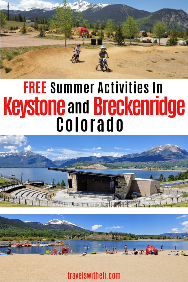 Free things to do in Keystone and Breckenridge Colorado in the summer