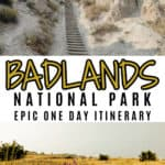 Badlands National Park One Day Itinerary