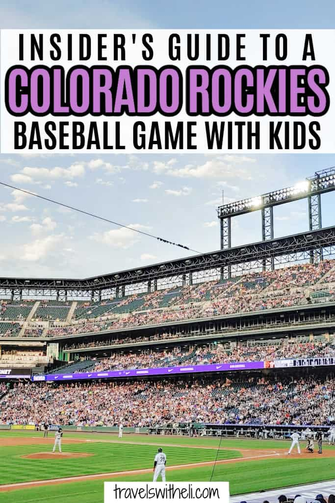 Insider's Guide to a Colorado Rockies Baseball Game With Kids
