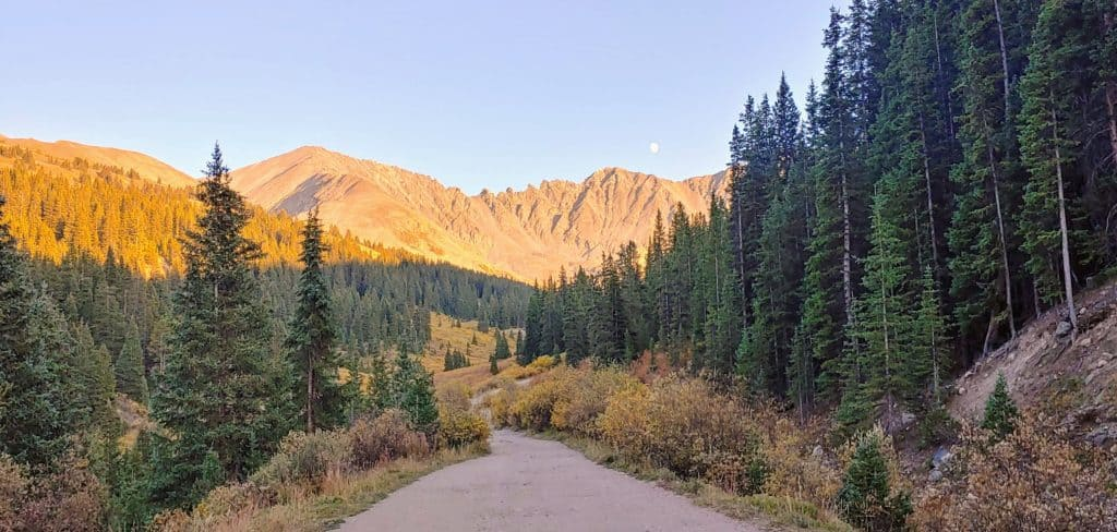 Mayflower Gulch Colorado in the Fall - the perfect drive to see fall colors from Denver